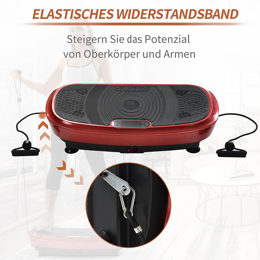 3D Vibrationsplatte Ganzkörper Trainingsgerät Fitness Vibrationsgerät bis 150kg